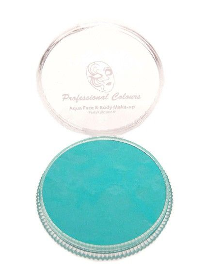 PartyXplosion Face & body paint color Sea Green