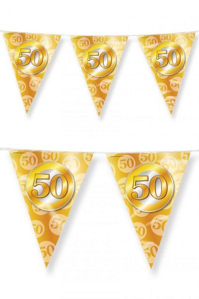 Vlaggenlijn 50 feest goud 60m