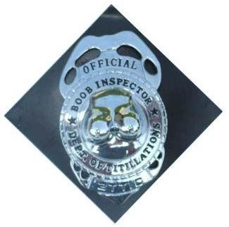 Badge Borsten inspecteur met speld