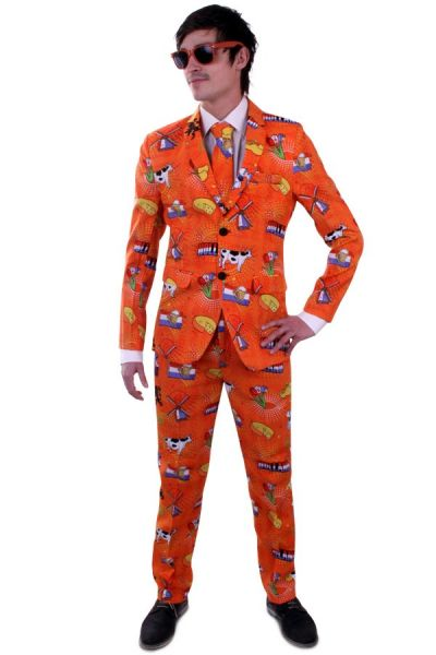 Koningsdag Oranje Holland kostuum