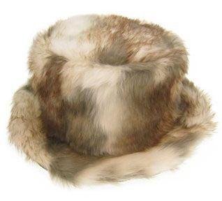 Pimp hoed wolf-bont hoog model