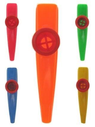 36x Kazoo van de mirlitons kleurenmix