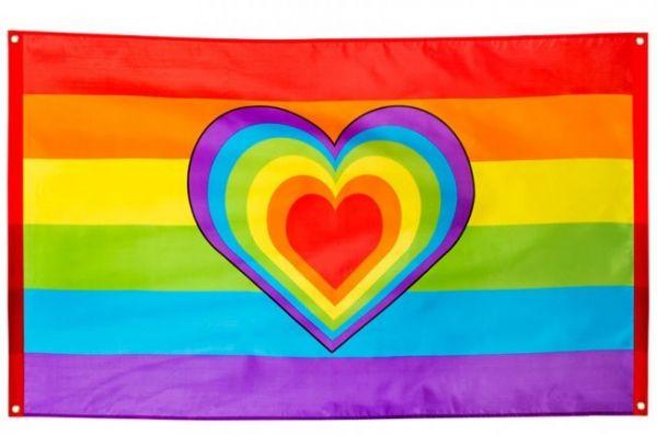 Regenboogvlag Love Gay Pride