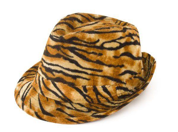 Gangster pimp tijger print hoed