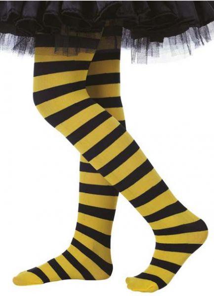 Bijen Kinderpanty geel zwart gestreept meisje
