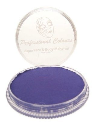 PartyXplosion Aqua face & body paint Violet Blacklight