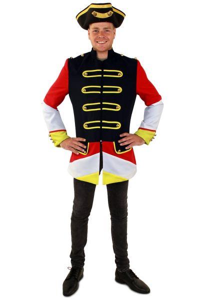 Carnavalsjas Oeteldonk rood wit geel heren