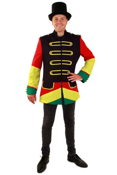 Carnavalsjas Limburg rood geel groen heren