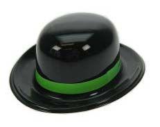 Mini schwarze Melone mit grünem Band