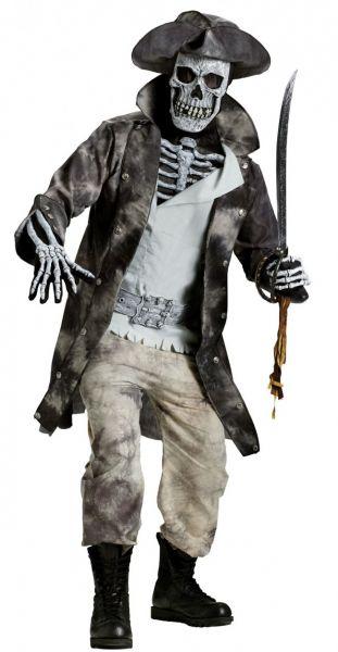 Horror Skelet piraat outfit