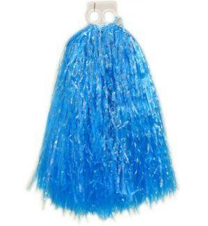 Cheerball ringgreep blauw pompoenen