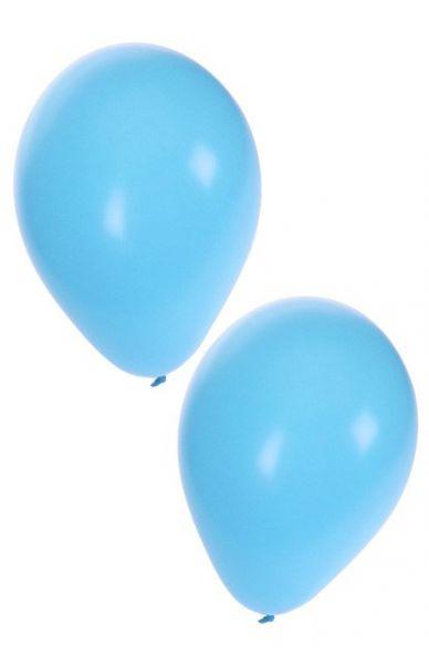 Lichtblauw heliumballonnen