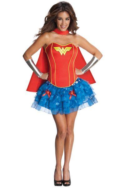 Wonder Woman Corset sexy dress