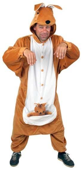 Kangoeroe pak dierenkostuum