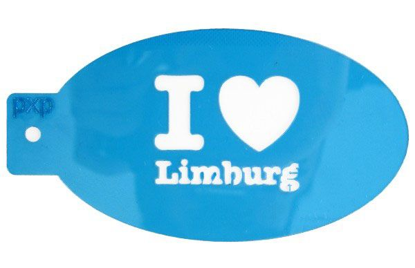 PXP schminksjabloon I love Limburg