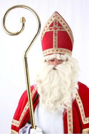 Sinterklaas baard snor