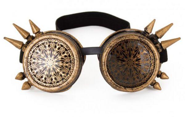 Steampunkbril spike vintage