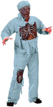 Halloween kostuum chirurg horror outfit