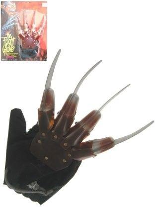Halloween Freddy Kruger hand met messen