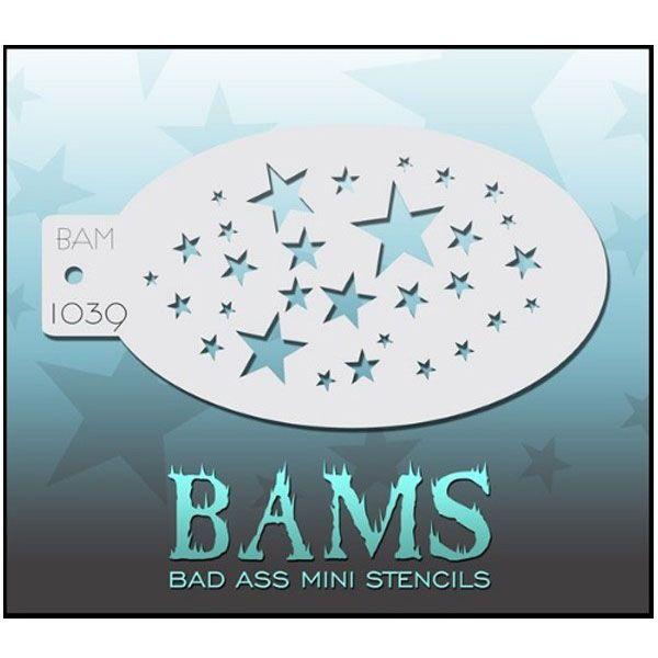 Bad Ass BAM schmink sjablonen 1039 sterren