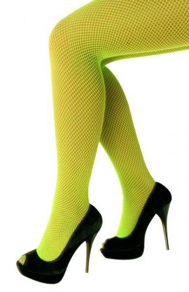 Net panty fluo groen