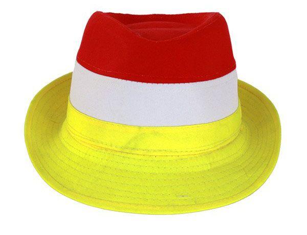Oeteldonk Hoedje rood wit geel