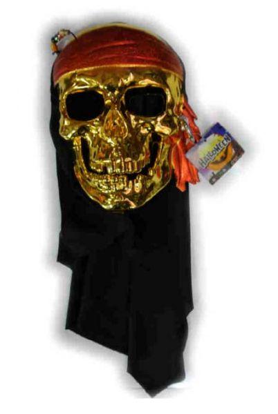 Piratenmasker met hoofddoek