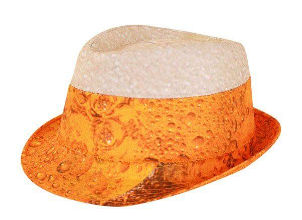 Oktoberfest bier Hoedje met schuimkraag