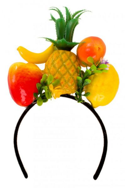 Diadeem Hawaii tropisch fruit haarband tropical carnaval