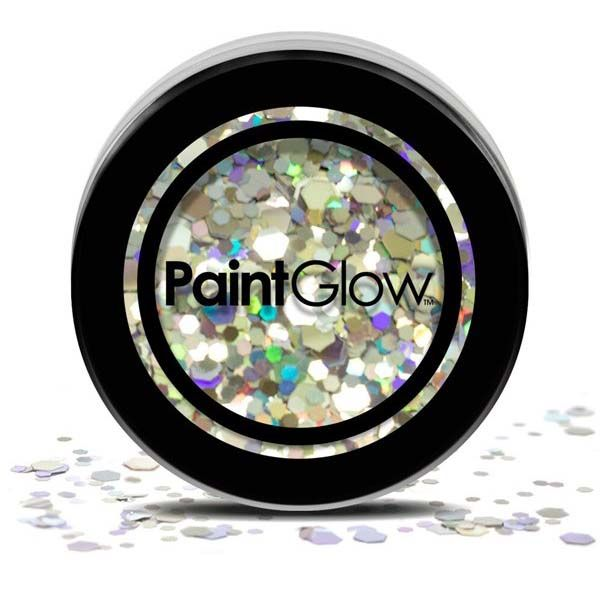 Chunky cosmetic glitters Disco Fever PaintGlow