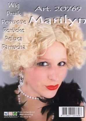 Marilyn Monroe pruik blond