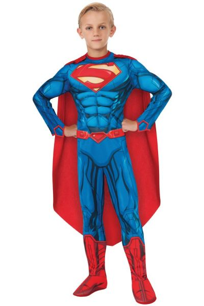 Superman muscle chest verkleedkleding kind