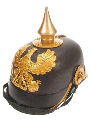 Helm Keizer zwart met goud