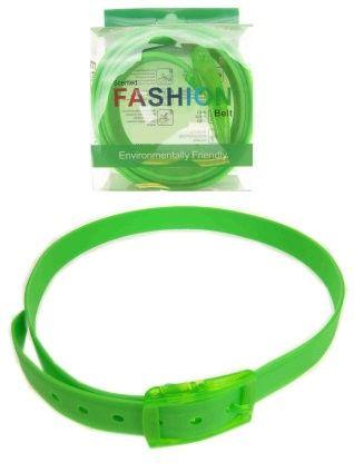 Disco riem fluor groen