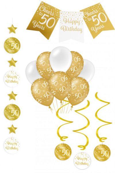 Verjaardag Feestpakket 50 jaar