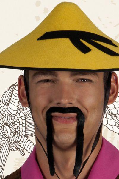 Chinese hangsnor zwart
