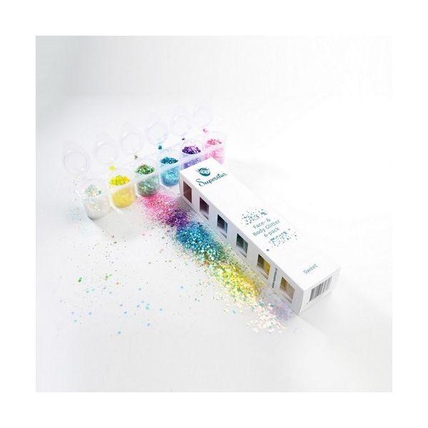 Sweet Glitters - Superstar Chunky Mix - sixpack