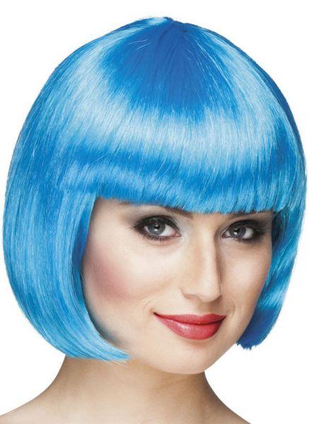 Damespruik Bobline ijsblauw